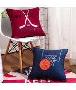 48*48cm American Basketball Hockey Cushion Children Bedroom Pillow Home ... - $26.09