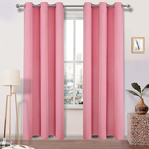 DWCN Blackout Curtains - Room Darkening Thermal Insulated Living Room and Bedroo