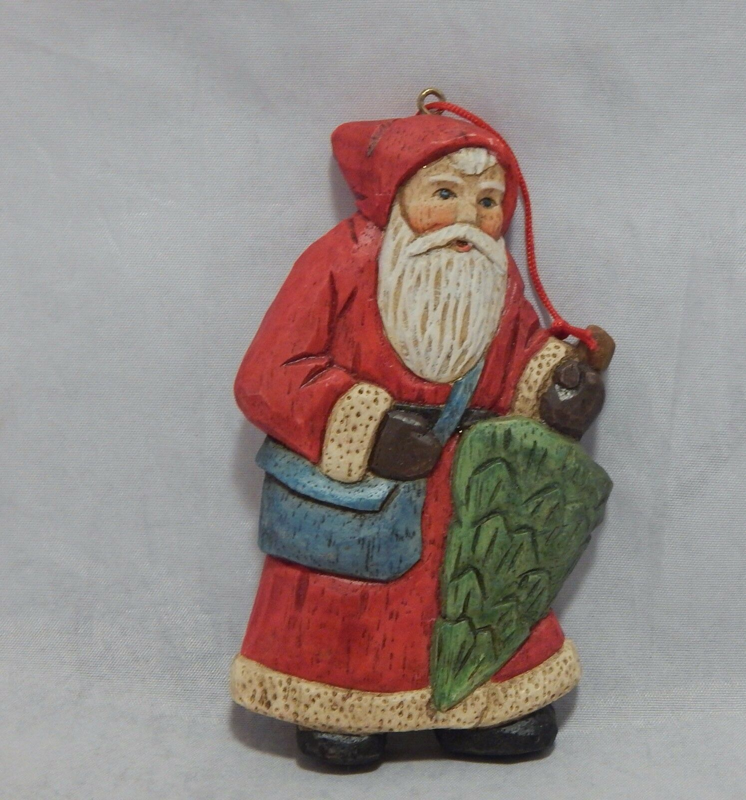 Primary image for Kurt Adler Ornament Santa's World Santa Ornament