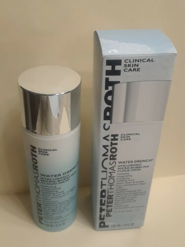 Primary image for Peter Thomas Roth Water Drench Hyaluronic Micro-Blubbling Cloud Mask 4oz NIB
