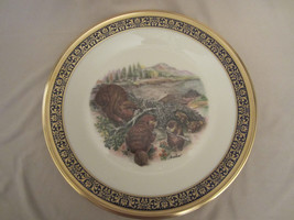 Beavers Collector Plate 1977 Lenox Woodland Wildlife Boehm - $19.95