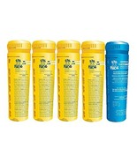5 pack spa frog replacement cartridges, 4 bromine/ 1 mineral - $68.81