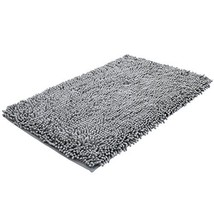 Super Soft Bath Mat Microfiber Shag Bathroom Rugs Non Slip Absorbent Fas... - $19.99