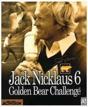 Jack Nicklaus 6: Golden Bear Challenge - PC - $100.24