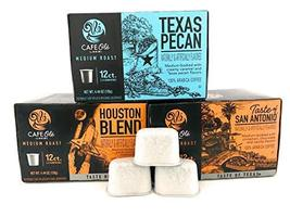 Cafe Ole' Taste of Texas - Single Serve Gourmet coffee Assortment with 3 Months  - $48.98