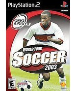 World Tour Soccer 2003 (Sony PlayStation 2, PS2) Complete - $6.62