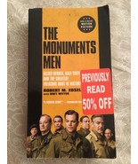 Monuments Men By Robert M. Edsel With Bret Witter - $4.94