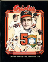 Baltimore Orioles Baseball Yearbook MLB 1983-Brooks Robinson cover-VF/NM - $49.66