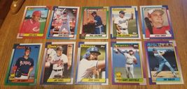Topps 1990 Baseball Cards LotOf 54 Cards image 5