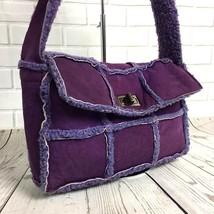 CHANEL Authentic Flap Mouton Purple Shoulder Bag Matelasse B0082 - $682.11