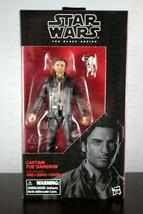 "CAPTAIN POE DAMERON Star Wars BLACK SERIES 6"" inch Action Figure #53 Las... - $14.99"