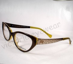 Lucky Brand Eyeglasses Sonora Olive Women new Frames Authentic - $79.19