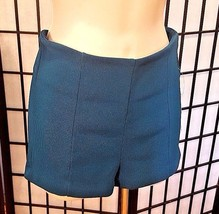 FOREVER 21 Women's Shorts Teal Zip-up Shorts Size S Small NWT - $9.89