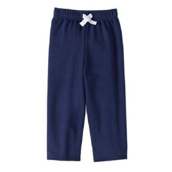Primary image for Garanimals Toddler Boys' Solid French Terry Pants Navy Blue Size 2T NWT