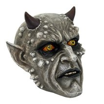 Demonic Skullhead with Horns Collectible Figurine 5.25H - £18.22 GBP