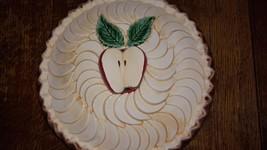 Vintage Ceramic Apple Pie Keeper made in Portugal - $26.73