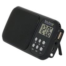 Boytone BT-92B Portable FM Transistor Clock Radio Alarm, - €25,86 EUR