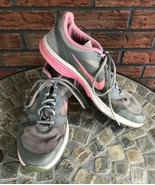 Nike Dual Fusion TR Size 9.5 Pink Gray Tennis Shoes Training Running Sne... - $19.80