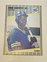1989 Fleer Ken Griffey Jr. #548 Rookie Baseball Card - PSA Ready! - $24,500.00