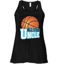 Basketball Star Uncle Fan Club Women Men Game Day Flowy Racerback Tank - $26.95+