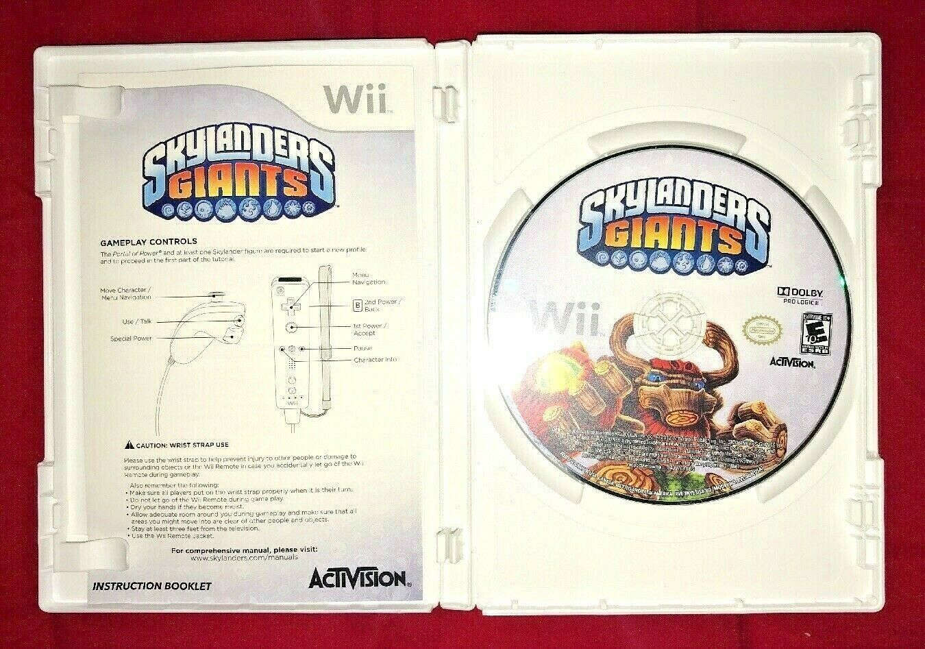 Skylanders GIANTS Nintendo Wii 2012 Game Complete W/ Disc and Portal Of Power image 5