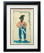 Samuel Black Sam Bellamy Famed African American Pirate Framed 11x14 Care... - $54.44