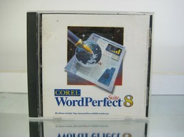 Corel WordPerfect Suite 8 CD including Quattro Pro, Presentations, Netscape - $17.10