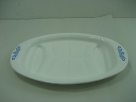 Vintage Corning Ware Blue Cornflower Platter P-19 Serving Platter Tray Dish - $16.79