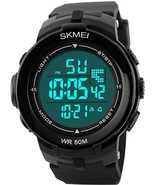 Outdoor Sports Watches Men LED Digital Multifunction Alarm 50m Waterproo... - $41.08