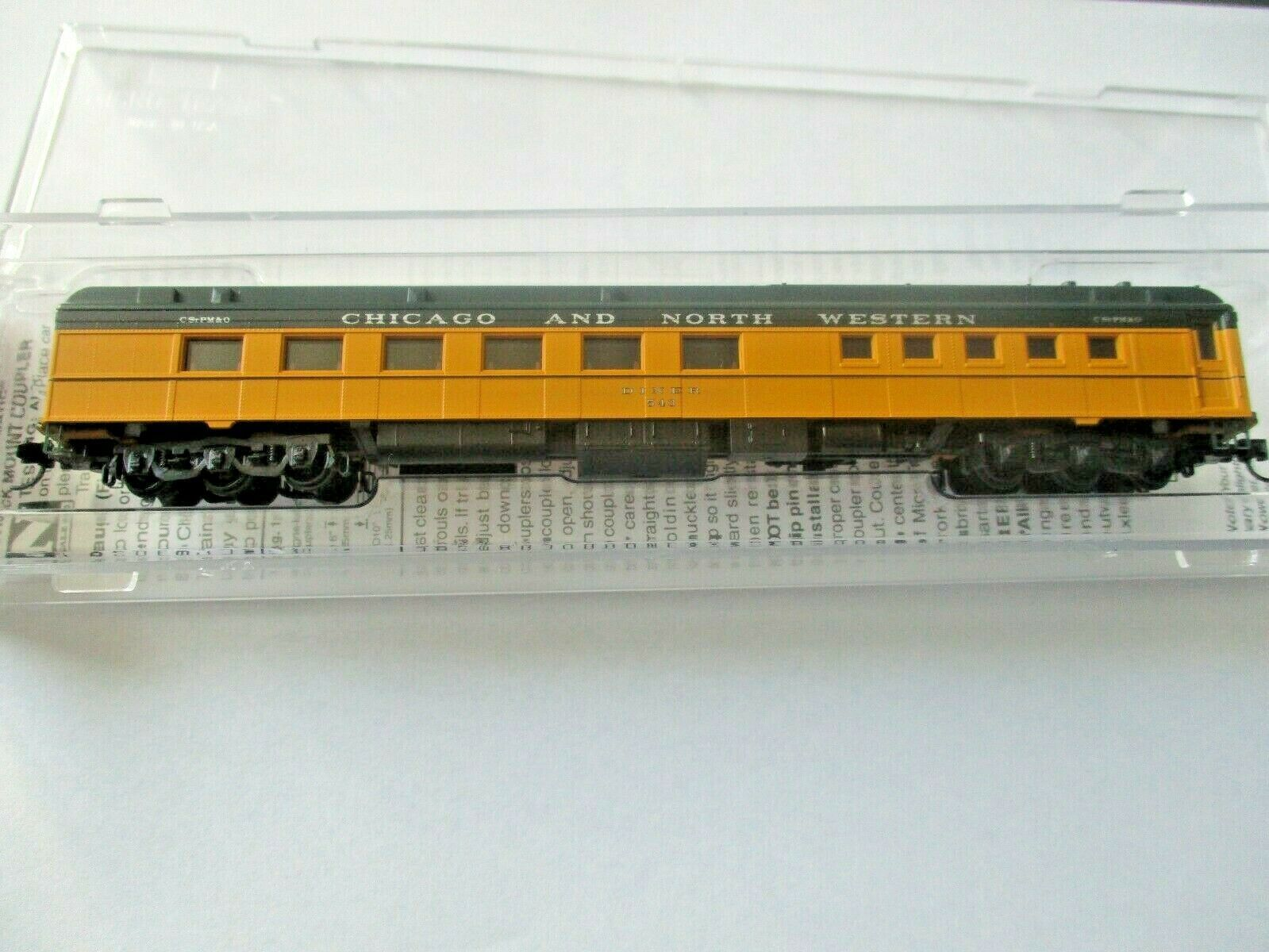 Micro-Trains # 14600430 Chicago & North Western 80' Heavyweight Diner N-Scale