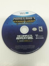 Minecraft Story Mode The Complete Adventure Nintendo Wii U (Disc Only) - $11.99