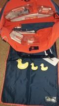 NWT! DANZO DIAPER BAG DZ4178 Cobalt Blue Nylon Tote Shoulder Bag - $22.48