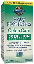 Garden of Life RAW Probiotics Colon Care Shelf Stable - 50 Billion CFU - $123.25