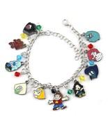Steven Universe (10 Themed Charms) Assorted Metal Charm Bracelet - $9.06