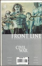 (CB-51) 2006 Marvel Comic Book: Civil War Frontline #8 - $3.00