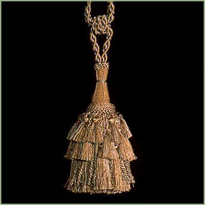 "27"" EARTH Steeple Tie Back Hanging Tapestry TASSEL"