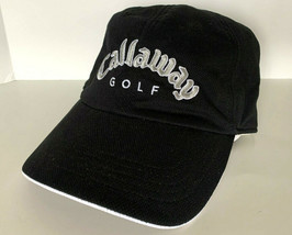 NEW! CALLAWAY Adult Unisex Golf Adjustable Cap-Black - $23.40