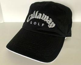 New! Callaway Adult Unisex Golf Adjustable Cap-Black - $23.40