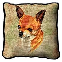 """17"""" Large CHIHUAHUA Dog Pillow Cushion Tapestry - $32.50"""