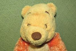 "DISNEY BABY WINNIE THE POOH IN TIGGER COSTUME PLUSH RATTLE 12"" STUFFED ANIMAL  image 3"