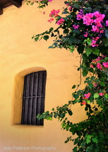 San Fernando Mission Window- 5 X 7 Fine Art Photograph, Meta - $18.00