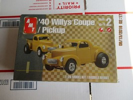 AMT 1940 Willys Coupe/Pickup 1/25 scale - $39.99