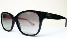Coach Hc 8035Q 5053/11 Black Authentic Sunglasses 56-16-135 - $71.28