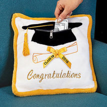 Graduation Pillow - $10.98