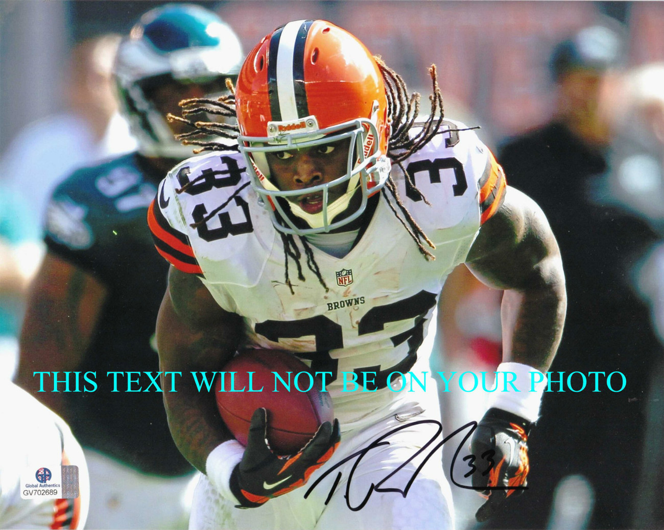 Primary image for TRENT RICHARDSON AUTOGRAPHED AUTO 8x10 RP PHOTO CLEVELAND BROWNS