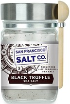8 oz. Chef's Jar - Italian Black Truffle Sea Salt by San Francisco Salt Company image 1