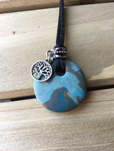 Clay Essential Oil Necklaces! Handmade. - $20.00