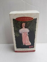 Barbie Hallmark Keepsake Ornament Christmas 1996 Mattel Enchanted Evenin... - $15.39