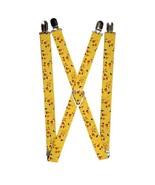 Pokemon - Pikachu Stacked Yellow Logo Suspenders  - $13.99