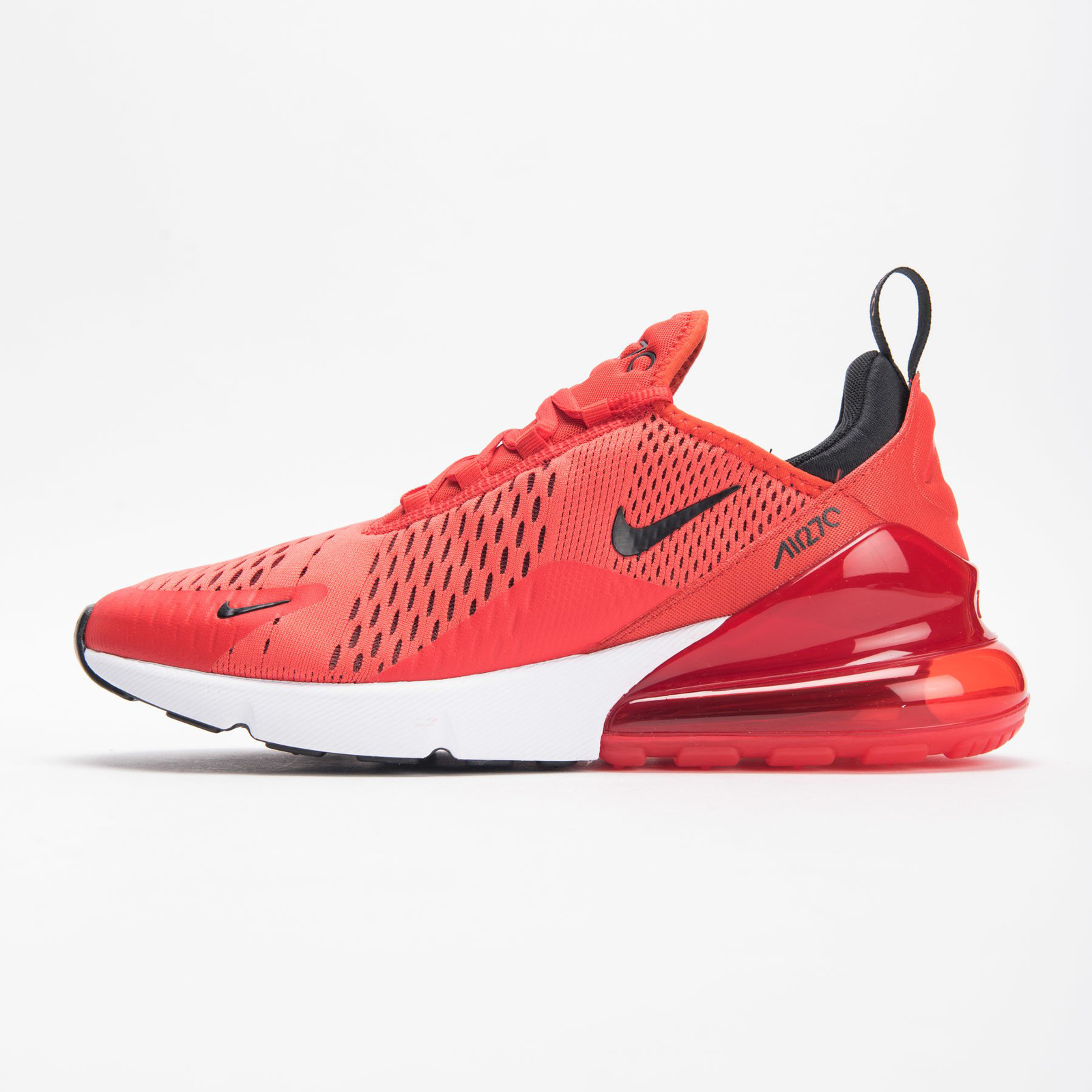 separation shoes 00345 029f7 Nike Air Max 270 (Habanero Red  White  Red  Black) Men 7